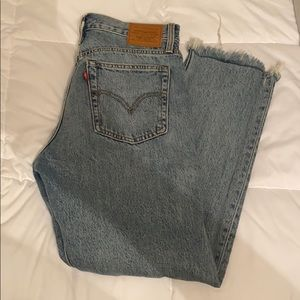 Like New Levi's Wedgie Jeans